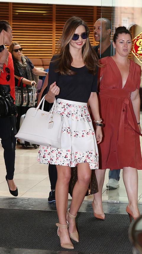 Language In 45 And 47 Stella Street: Miranda Kerr's Best Style Looks Ever