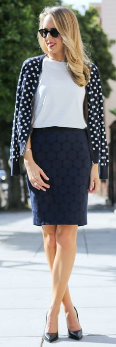 How To Wear Polka Dot Trend The Femininity Mystique