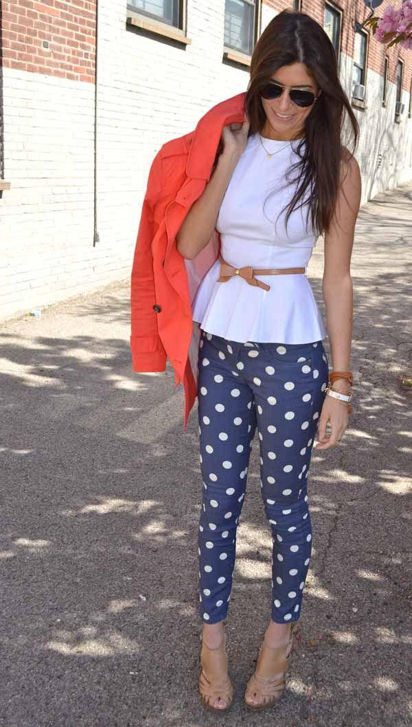 How to wear polka dot trend the femininity mystique 8ebfe410057bc85a96947898f6053cd9 sisterspd
