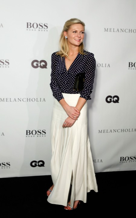 TORONTO, ON - SEPTEMBER 10: Actress Kirsten Dunst attends Hugo Boss / GQ Party at The 2011 Toronto International Film Festival at Hugo Boss Store on September 10, 2011 in Toronto, Canada. (Photo by Peter Bregg/Getty Images for Hugo Boss)