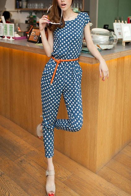 polka-dot-mid-rise-waist-zipped-jumpsuits