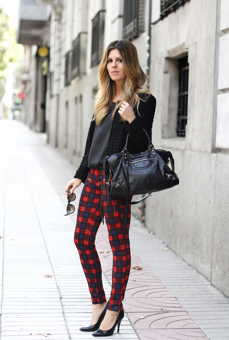 How To Wear Plaid Trend – The femininity mystique