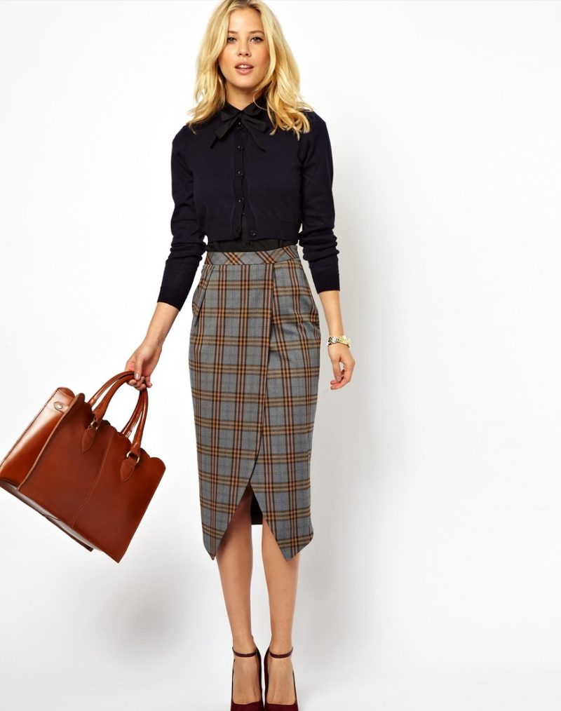 How To Wear Plaid Trend The Femininity Mystique