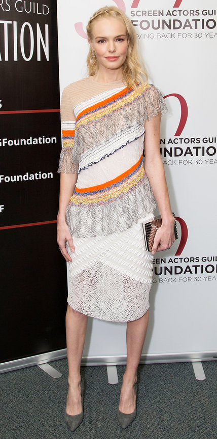 LOS ANGELES, CA - OCTOBER 27: Actress Kate Bosworth attends SAG Foundation's