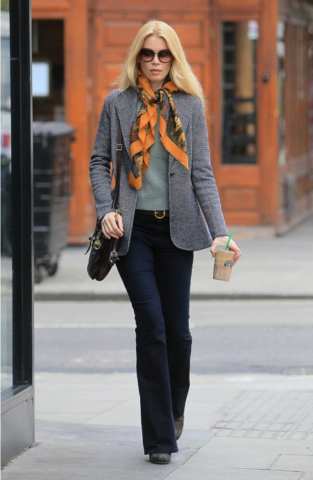 Mandatory Credit: Photo by Martin Karius/REX Shutterstock (1292452c) Claudia Schiffer Claudia Schiffer in Notting Hill, London, Britain - 02 Mar 2011