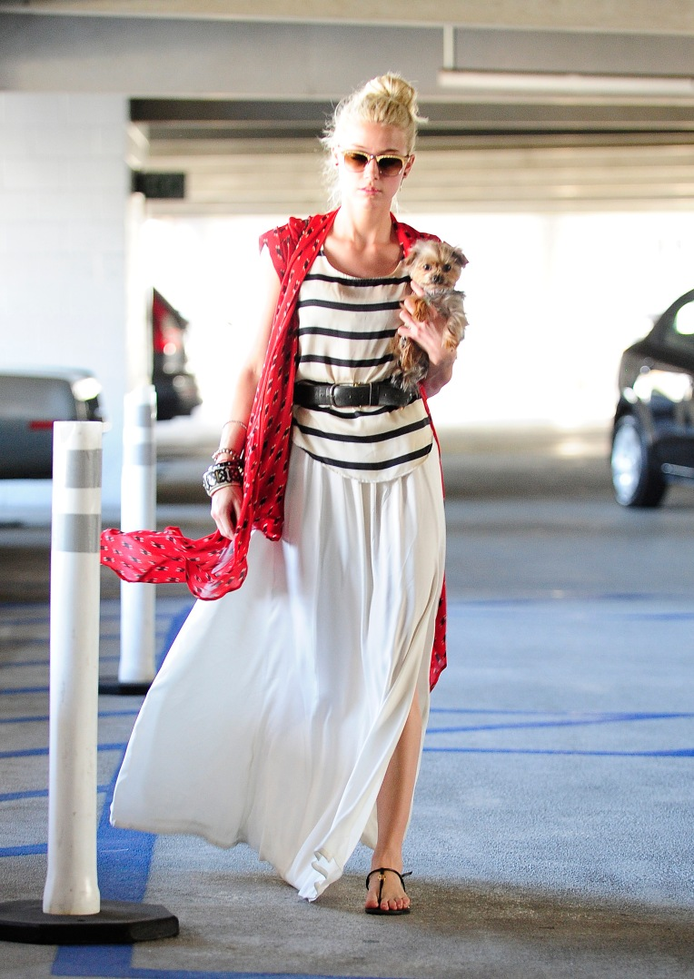 Amber Heard out in West Hollywood, CA