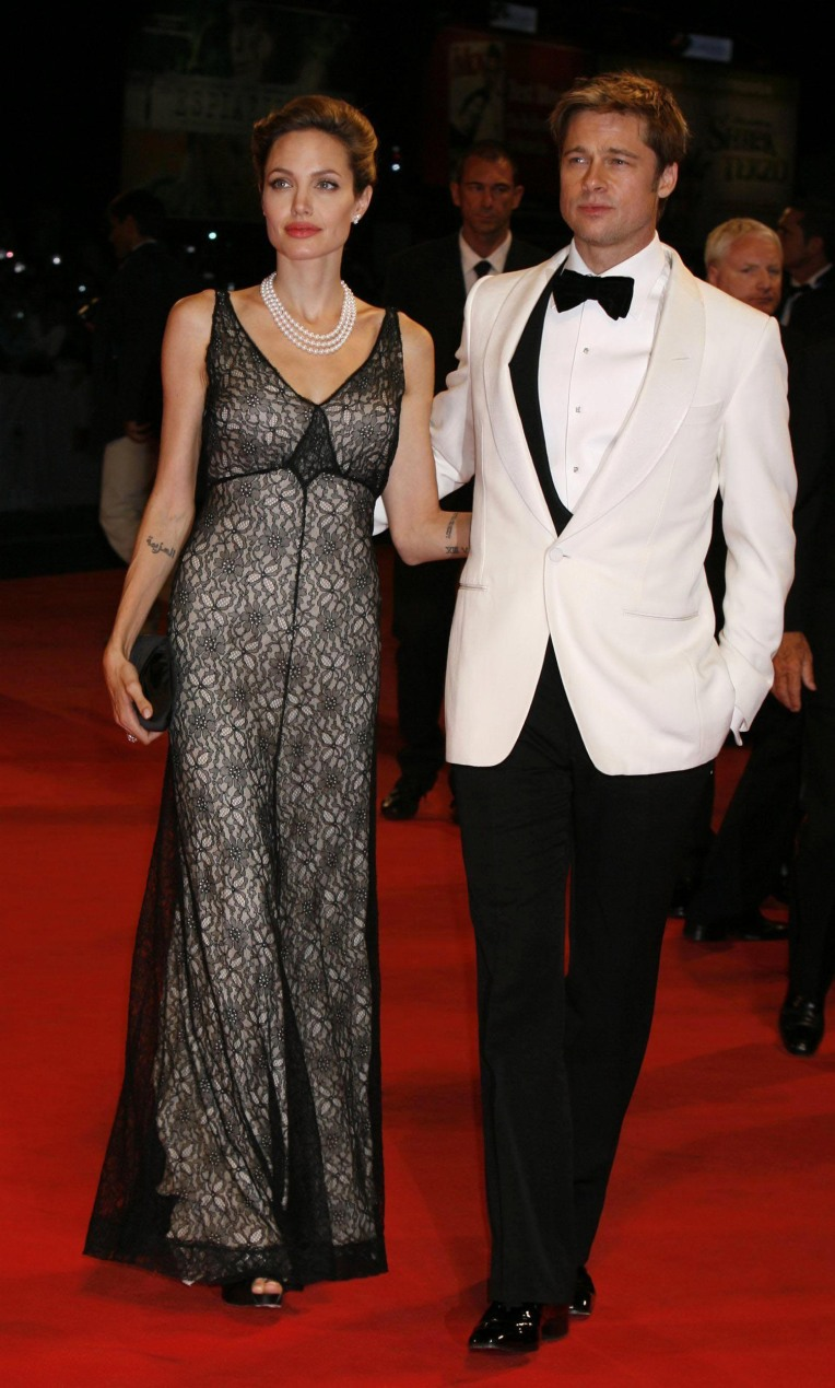 Top The Femininity Mystique Jolie Clothing Jamie Long Dress Angelina At Berlin Premiere Of Tourist 2010